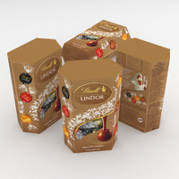 lindt lindor assorted cornet model