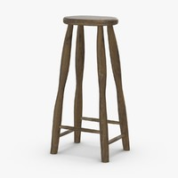 3D rustic-stool-02