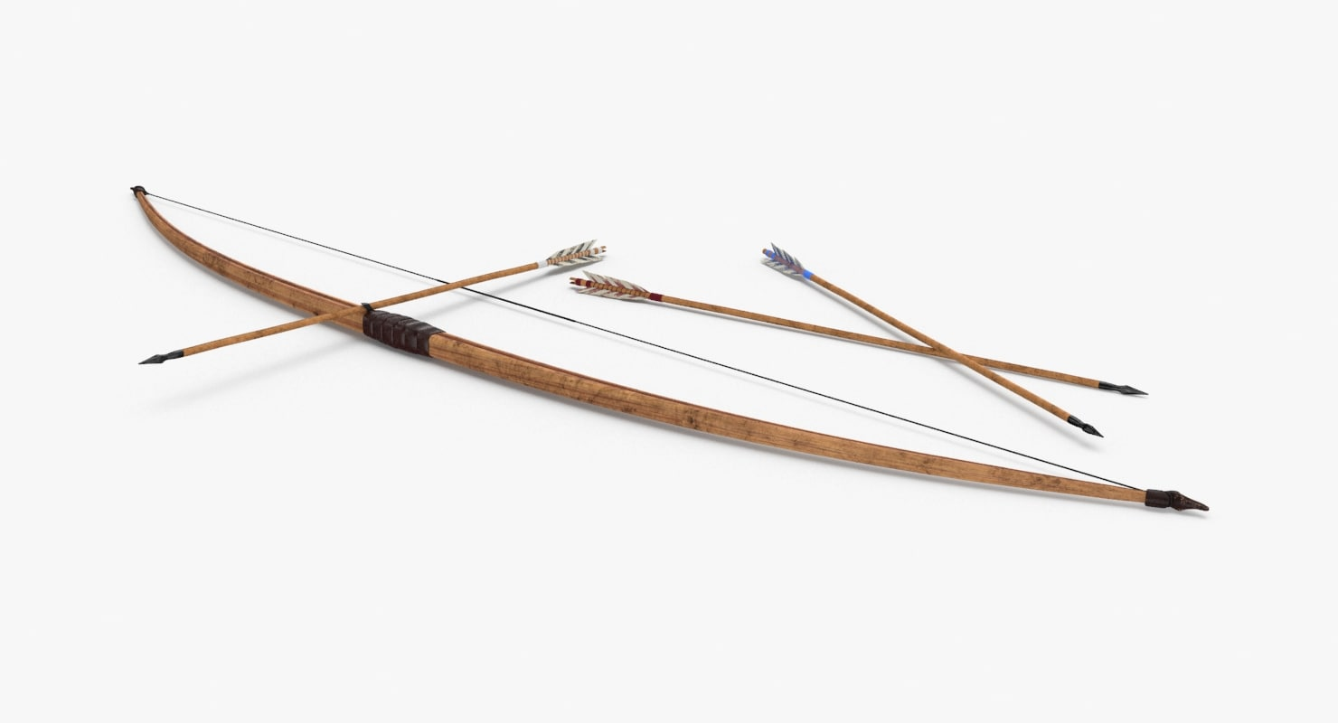 medieval-bow 3D