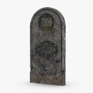 3D headstones-02---mother