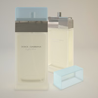 3D dolce gabbana light blue
