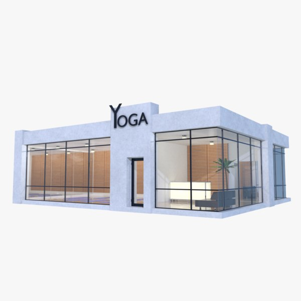 yoga studio 1 3D model