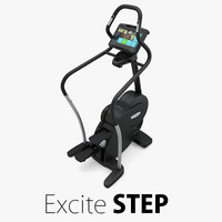 3D - excite step technogym