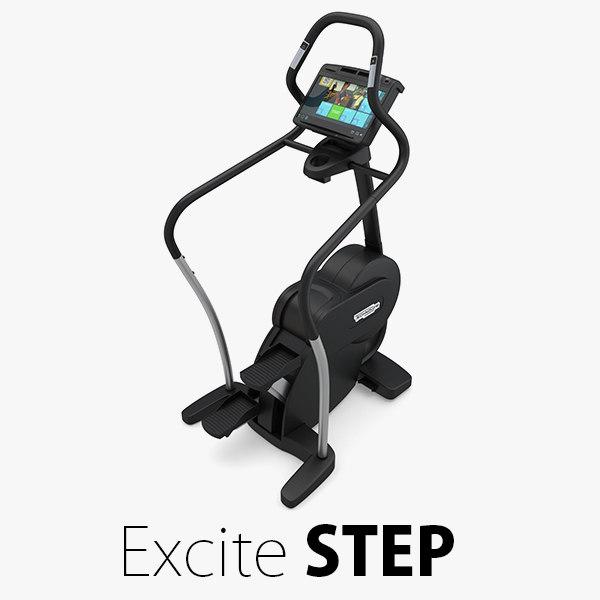 3D - excite step technogym