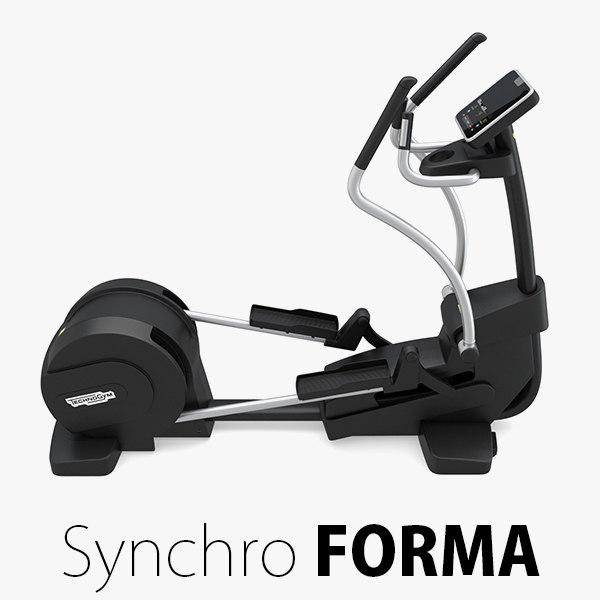 - synchro forma technogym 3D model