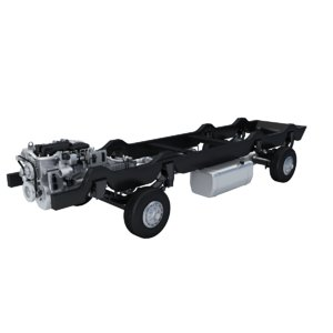 3D chassis truck model
