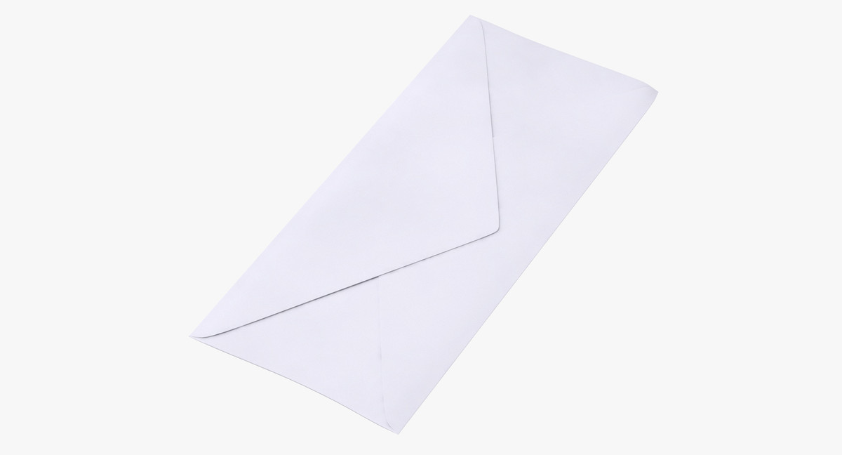 closed mail envelope 03 model
