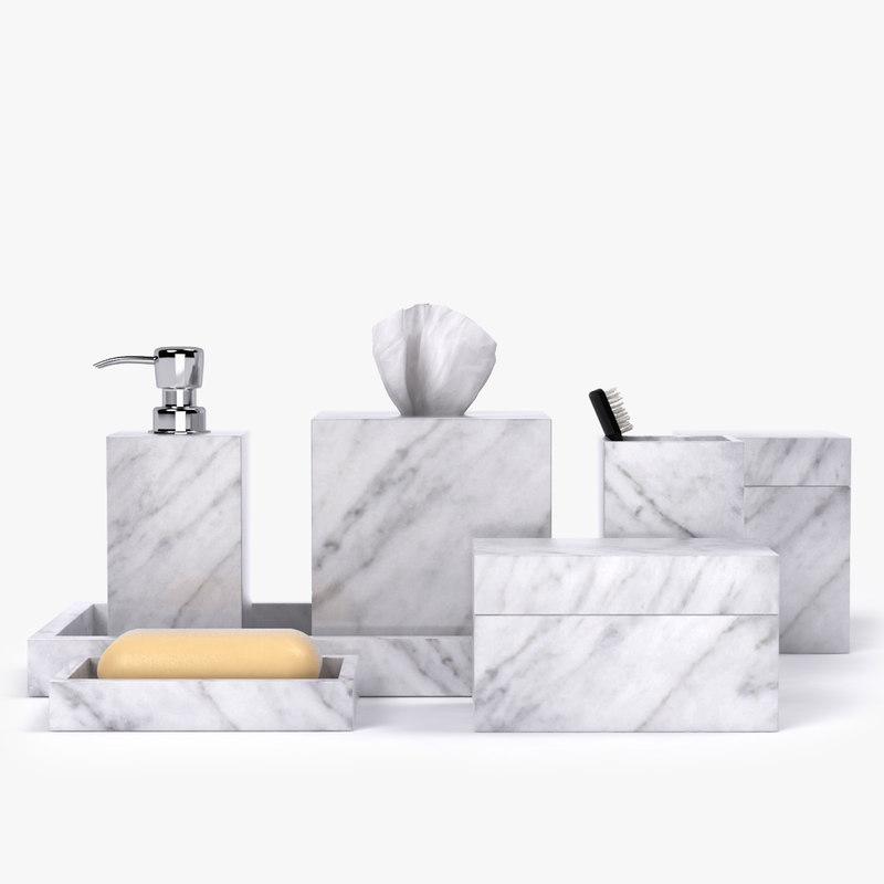 Restoration Hardware Hq: 3D Model Restoration Hardware Carrara Marble