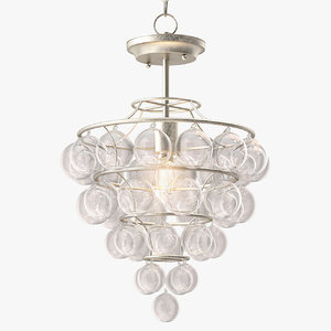 currey company astral pendant light 3D