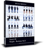 people - business 3D model