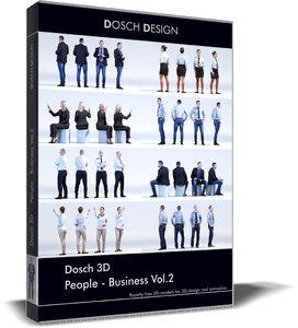 people - business 3D model