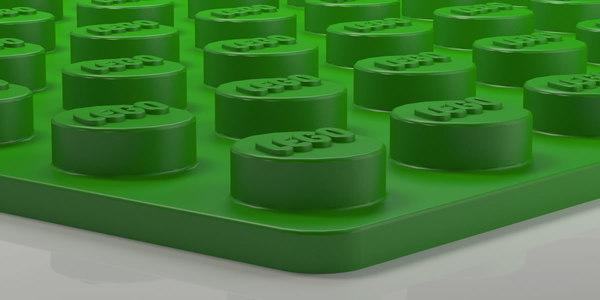 3D model lego sizes print games
