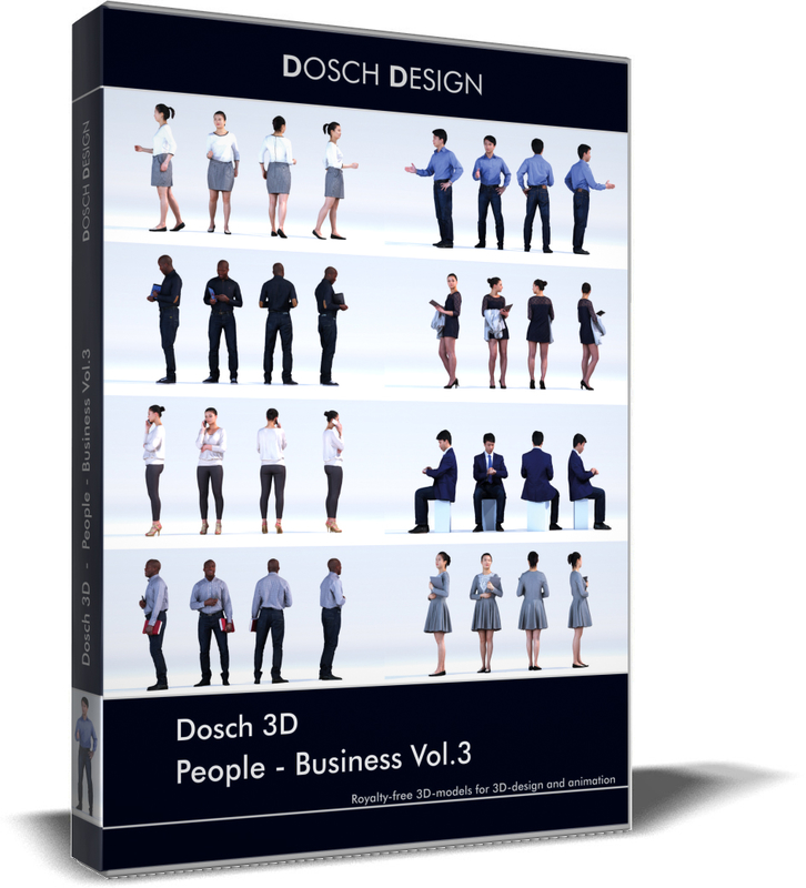 3D people - business