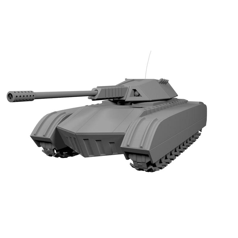 3D rhino tank