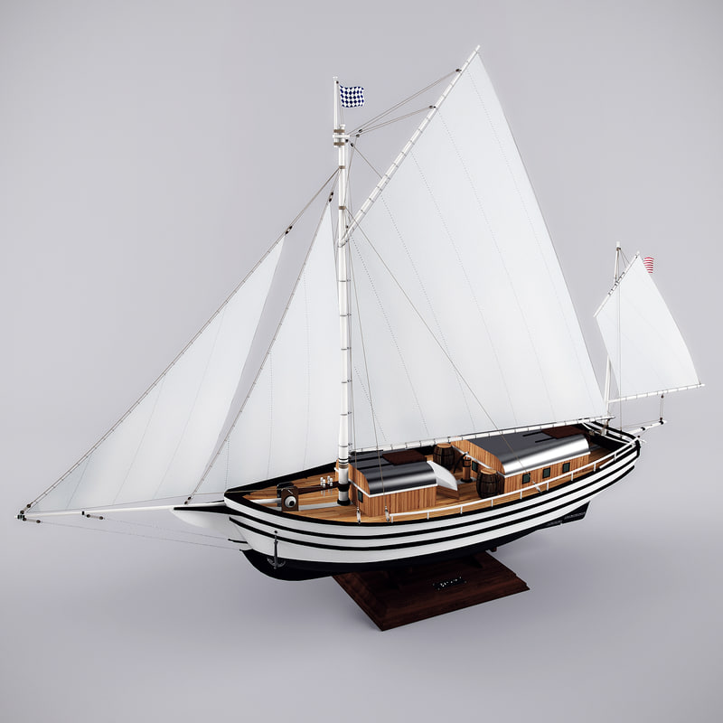 spray oyster sailed model