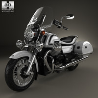 moto california guzzi 3D model