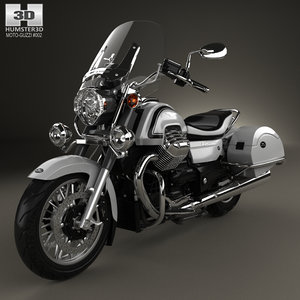 moto california guzzi 3D model