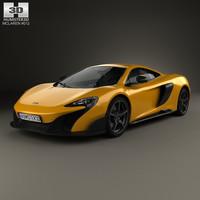 3D mclaren 675lt 675 model