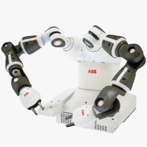 8k yumi abb 3D model