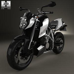 3D ktm super 990