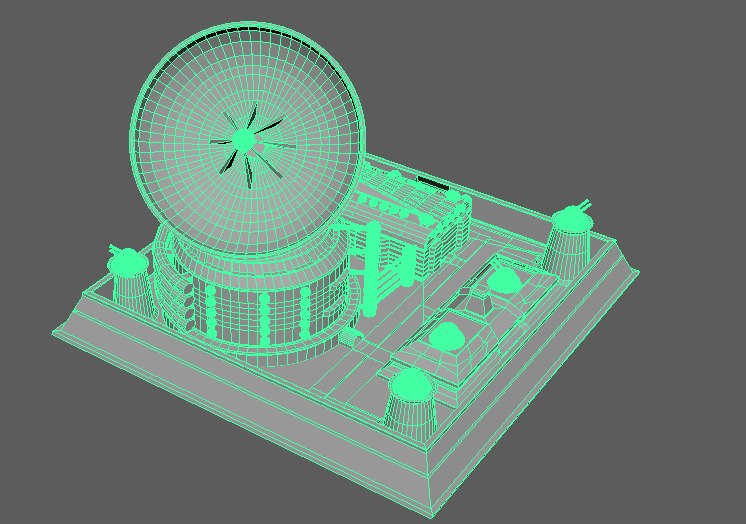 3D base