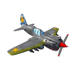 3D model world war 2 tiger