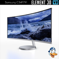 samsung c34f791 curved widescreen model