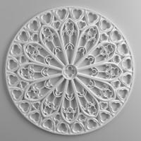 ornament architecture decoration model
