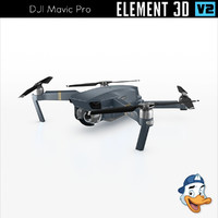 dji mavic pro element 3D