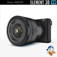 3D sony a6500 element