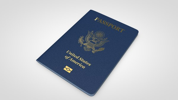 3D passport model