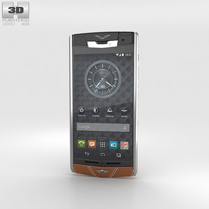 vertu signature bentley 3D model