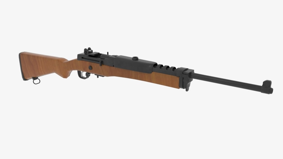3D ruger mini 14 ranch