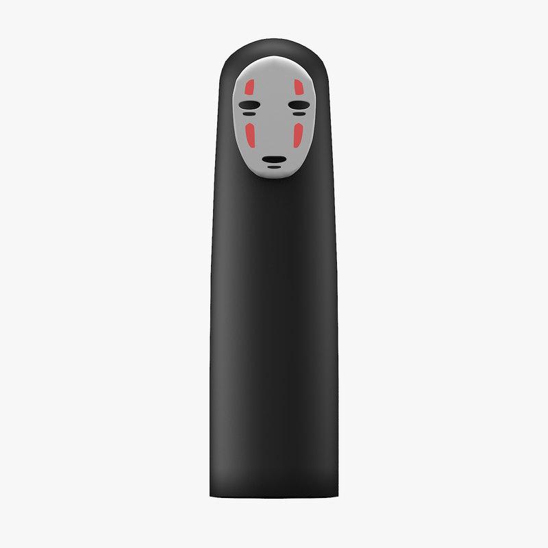 3D kaonashi no-face