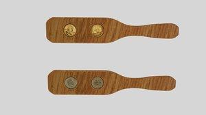 3D coin kip