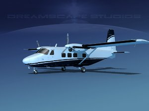 3D aircraft harbin y-12 ii