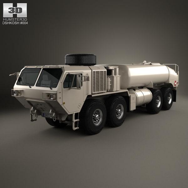 oshkosh m978a4 hemtt 3D model