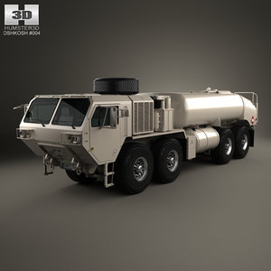 oshkosh m978a4 hemtt 3D model