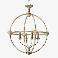 Currey and Company Bellario Orb Chandelier