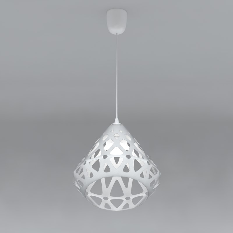pendant zaha light 3D model