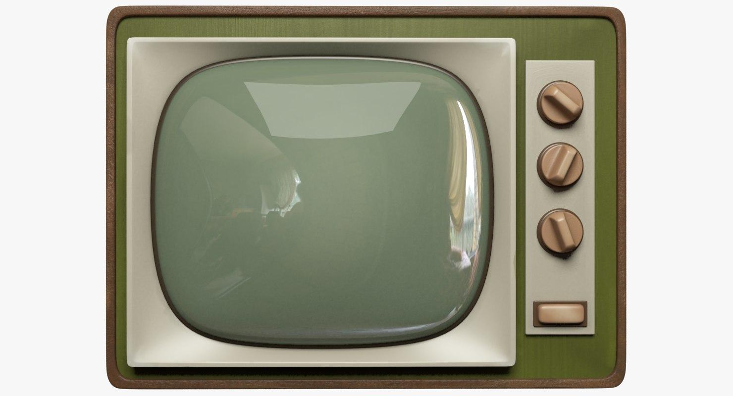 old tv 3D