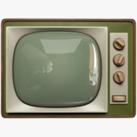 old tv 3D
