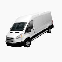 american design lo-poly van