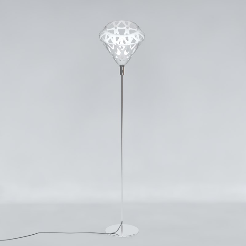 floor lamp zaha light 3D model
