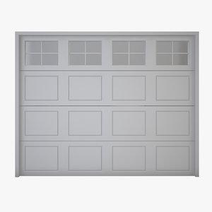3D garage door 03