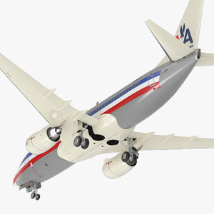 boeing 737-700 american airlines 3D
