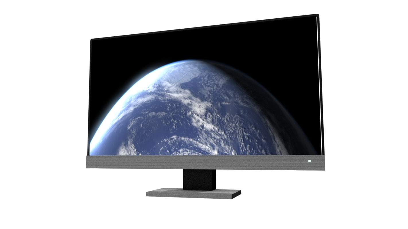 3D generic computer monitor