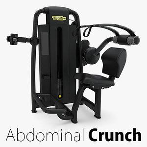 - sp abdominal crunch 3D model