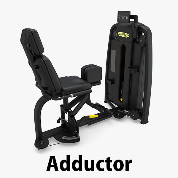 3D - sp adductor technogym
