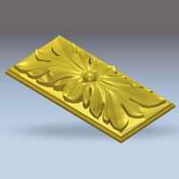Flower table - High quality 3D models for CNC